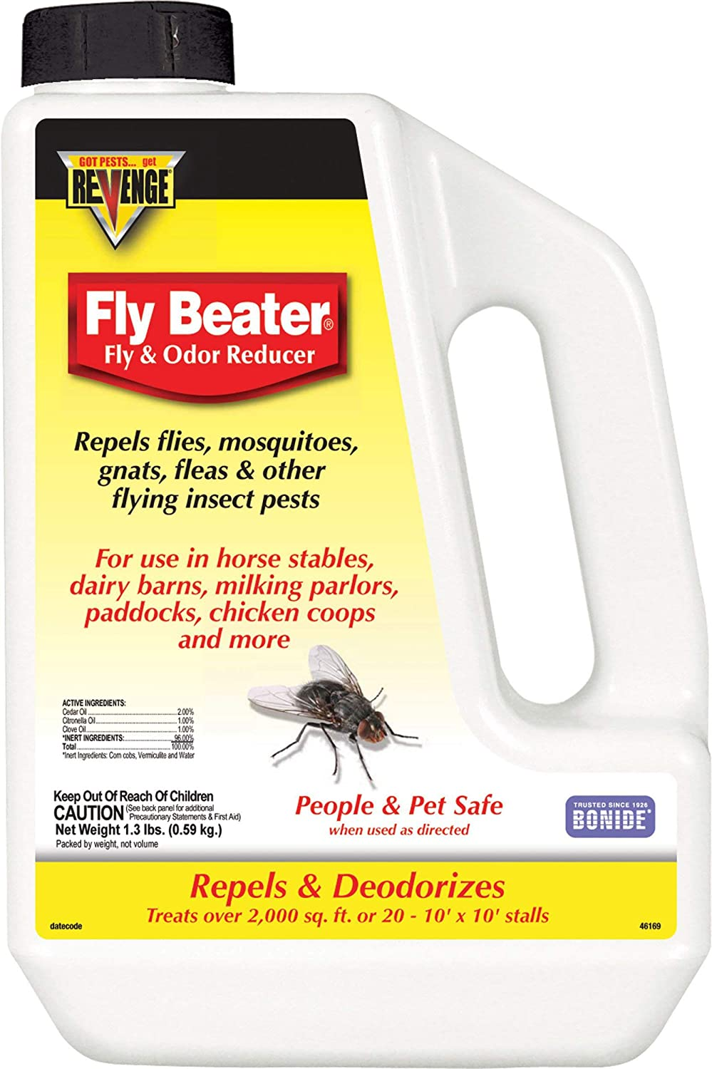 Insecten Verjager Fly Repellent Fan Keep Flies and Bugs From Food Away M4W9