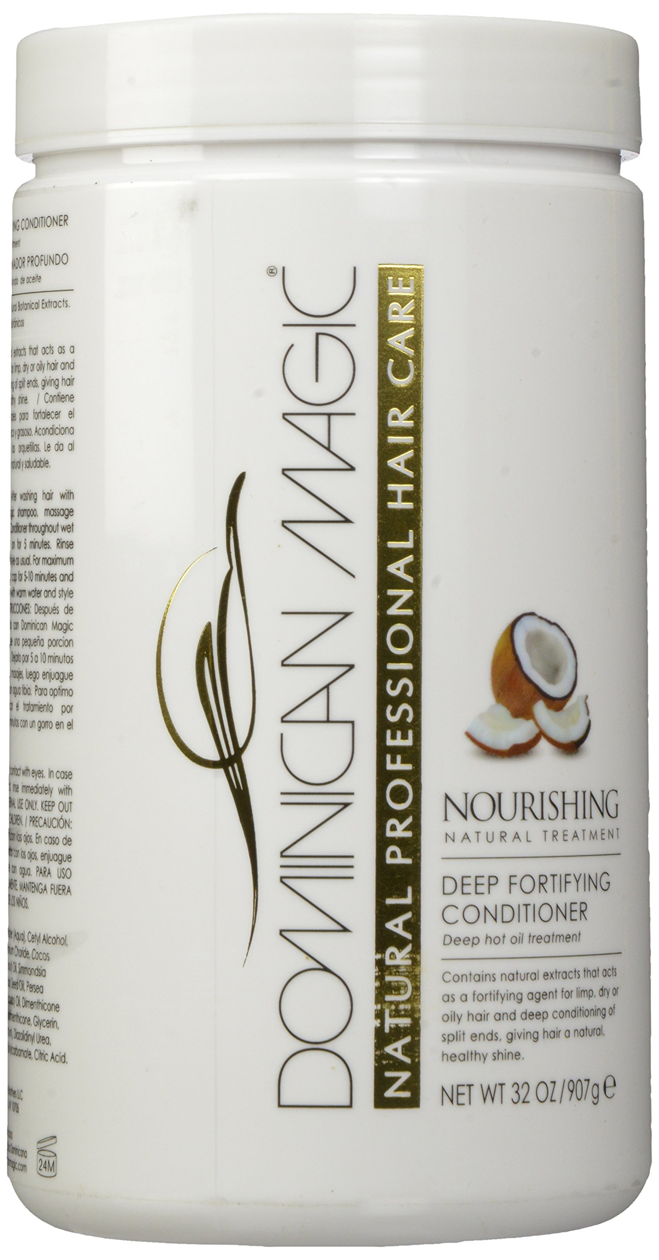 Dominican Magic Deep Fortifying Conditioner, 32 Fluid Ounce