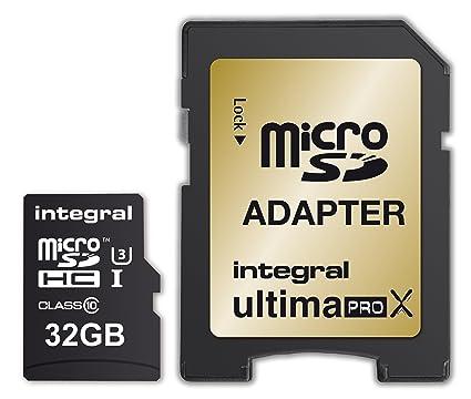Integral UltimaPro X - Tarjeta de Memoria microSDHC de Alta ...