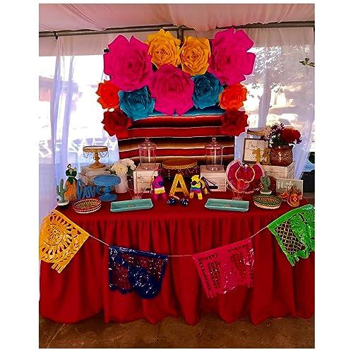 Amazon Com Fiesta Paper Flowers Set Handmade