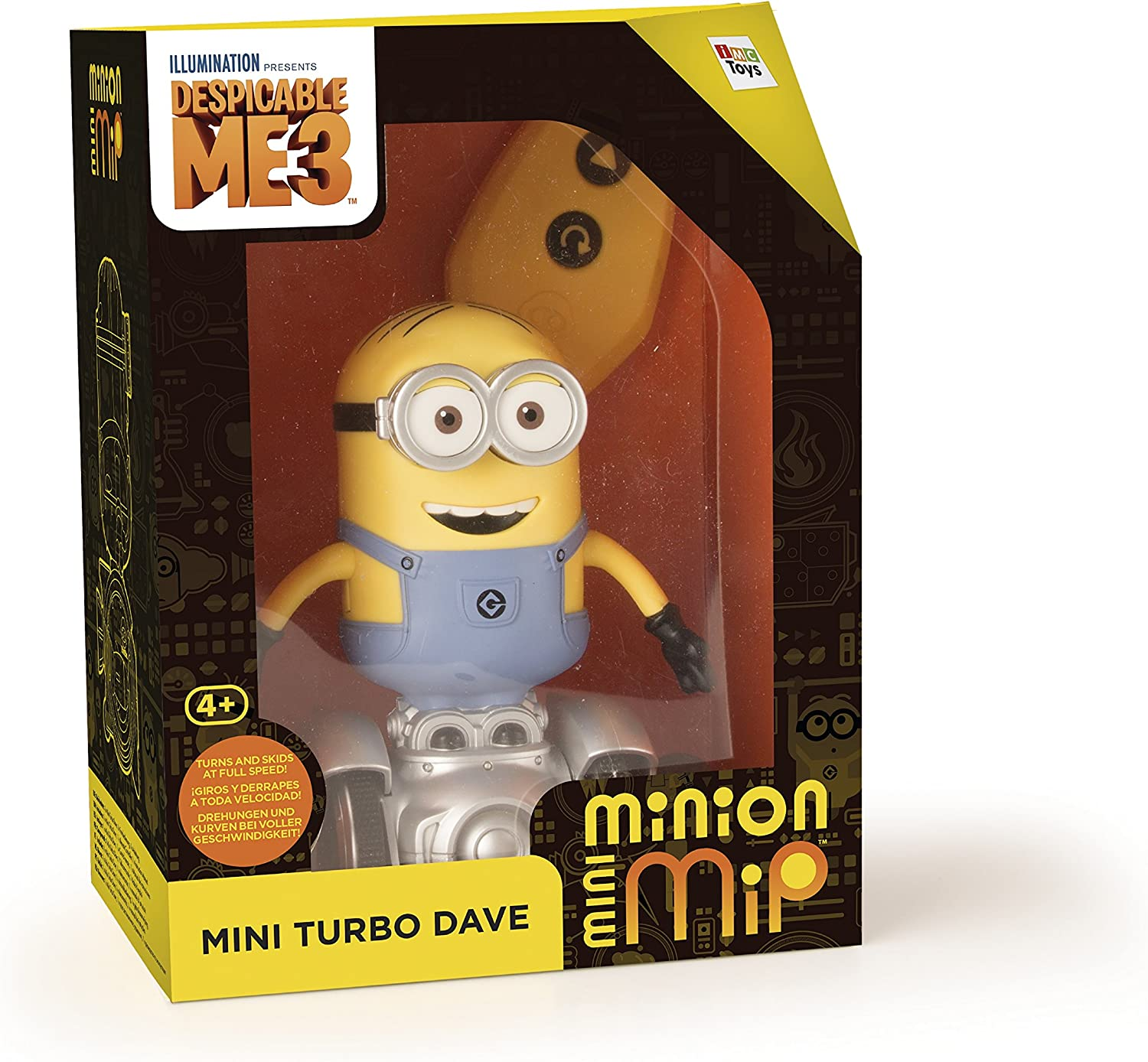 MINIONS IMC Toys 375369 - Vehículos RC Mini Turbo Dave: Amazon.es ...
