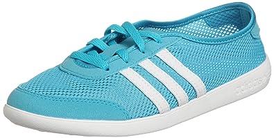 9420ce99d24f4 adidas Neo QT Lite W Damen Sommer Sneaker Türkisblau