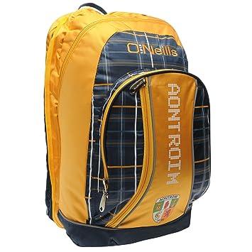 7666e5f9f41c72 O'Neills Antrim GAA Gaelic AA Marley Backpack Navy Sports Bag Rucksack W:38
