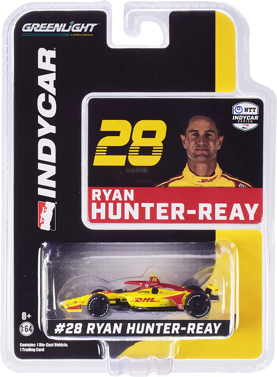 Greenlight 10878 2020 NTT IndyCar Series #29 James Hinchcliffe Andretti Autosport Genesys 1:64 Scale Indy 500