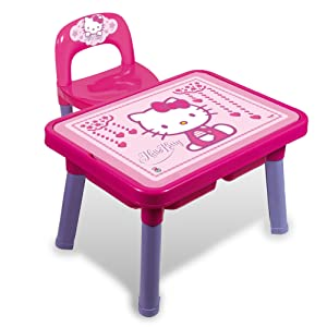 Androni 8901-00HK – Table multi-jeux avec chaise de Hello Kitty