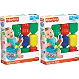 Fisher-Price Brilliant Basics Snap Lock Beads - Classic 2 pack