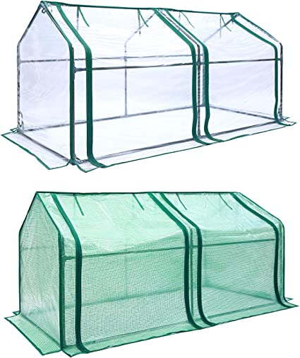 Green Protected Cover Growing House Indoor PVC Plants Plastic UV protection