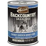 Merrick Backcountry Grain Free Wet Dog Food, 12.7 oz, 12 count
