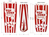 "Paper Popcorn Bags 2oz 11 X 5 X 3"" Leak / Grease"