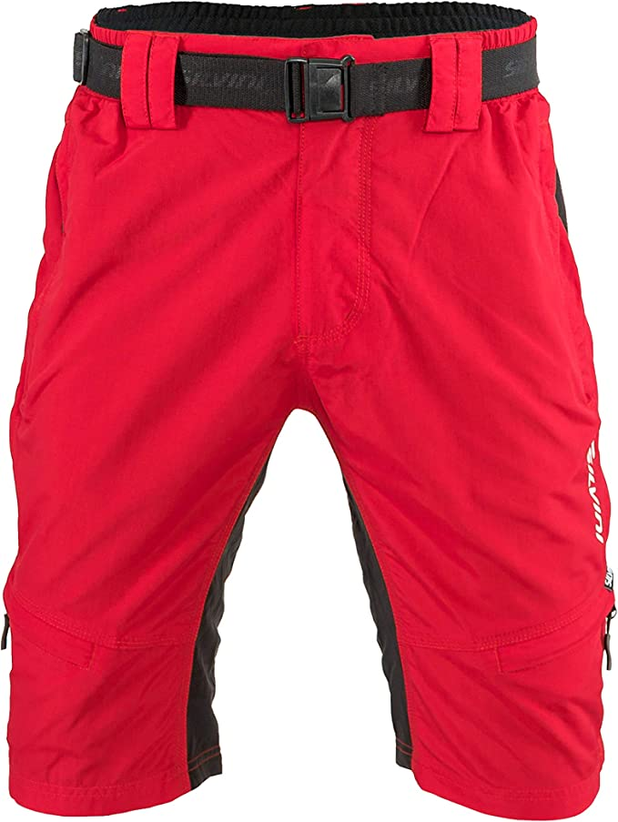 """NEW LADY/'S /""""RIDERS RACING RED COLOR MID-RISE BERMUDA  SHORTS w// FASHION BELT"""