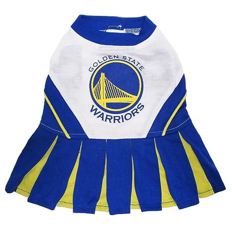 893239c0f Amazon.com   Pets First NBA Golden State Warriors Dog Cheerleader ...