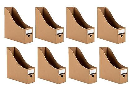 Cardboard Magazine Holders Awesome Amazon Magazine Holders 60Pack Cardboard File Holders