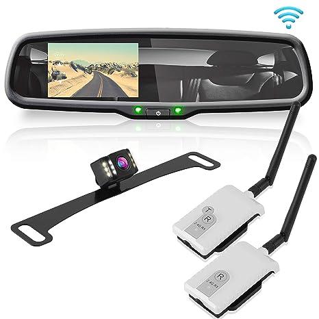 Amazon.com: Wireless Backup Rear View Camera - Waterproof ...