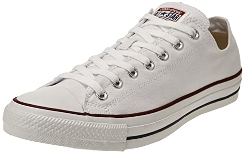 Bianco EU 50 CONVERSE CTAS CORE OX SNEAKERS DA UOMO BLANC BLANC OPTICAL 50