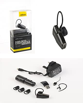 43d4a71c697 Jabra Arrow Bluetooth Headset With Car & USB Charger: Amazon.co.uk:  Electronics