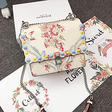 Amazon.com: Women Peekaboo Bag Embroidery Famous Brand ...