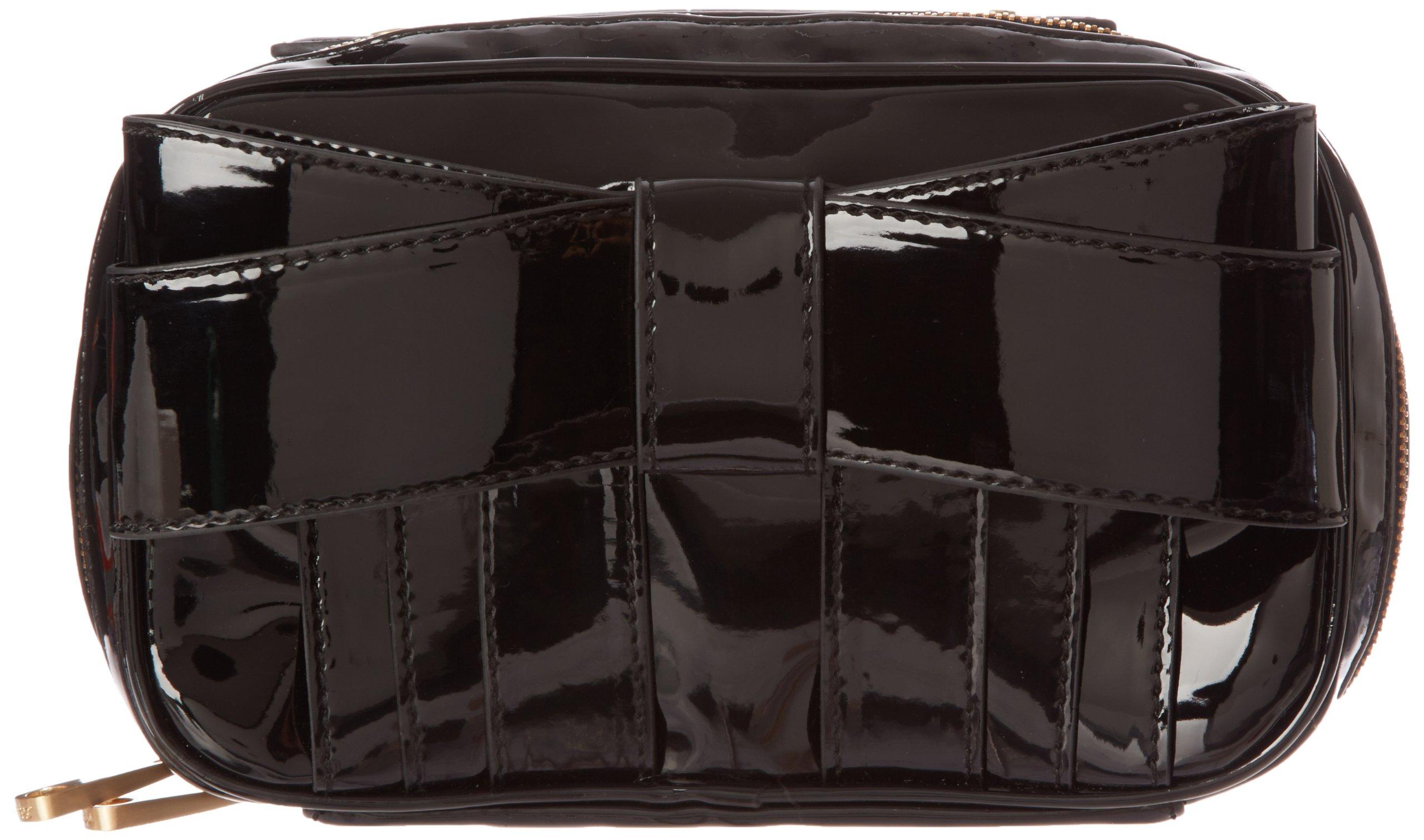 Z Spoke Zac Posen Shirley ZS1346 Cosmetic Case,Black Patent,One Size