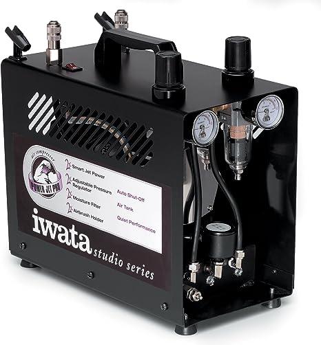 Iwata-Medea Studio Series Power Jet Lite Doppelkolben Luftkompressor