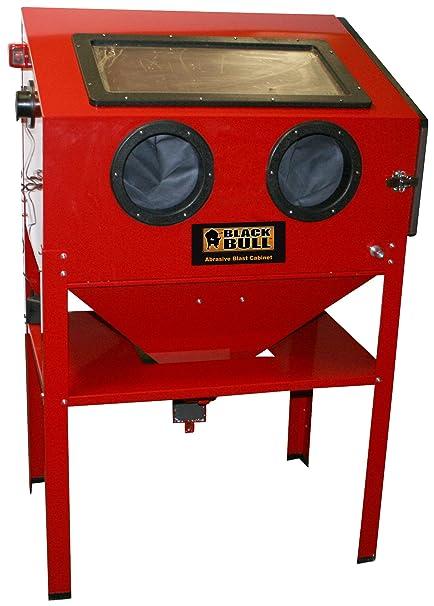 Black Bull SBCN Vertical Abrasive Blast Cabinet  sc 1 st  Amazon.com & Amazon.com: Black Bull SBCN Vertical Abrasive Blast Cabinet: Automotive