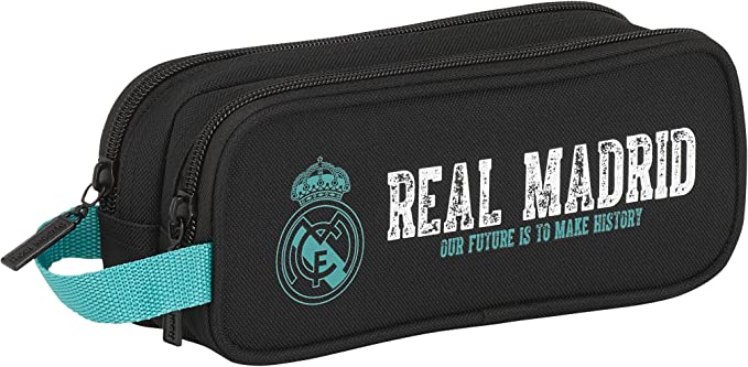 Real Madrid PORTATODO Doble, Nueva Linea: Amazon.es: Ropa y accesorios