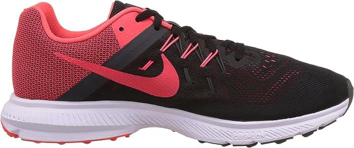 Nike Zoom Winflo 2, Zapatillas de Running para Hombre, Negro/Naranja/Gris/Blanco (Blk/Brght Crmsn-Anthrct-White), 45 EU: Amazon.es: Zapatos y complementos