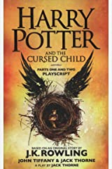 Harry Potter and the Cursed Child - Parts One and Two: The Official Playscript of the Original West End Production (Harry Potter Officl Playscript) Paperback