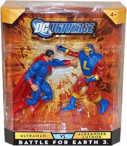 DC universe classics Battle for Earth 3 série exclusive ALEXANDER LUTHOR Figure