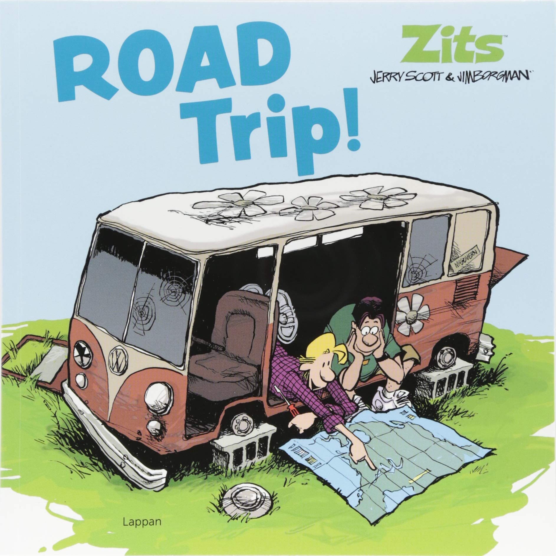 Zits: Road Trip!: Band 15 Taschenbuch – 28. Juni 2018 Jerry Scott Jim Borgman Lappan 3830380372