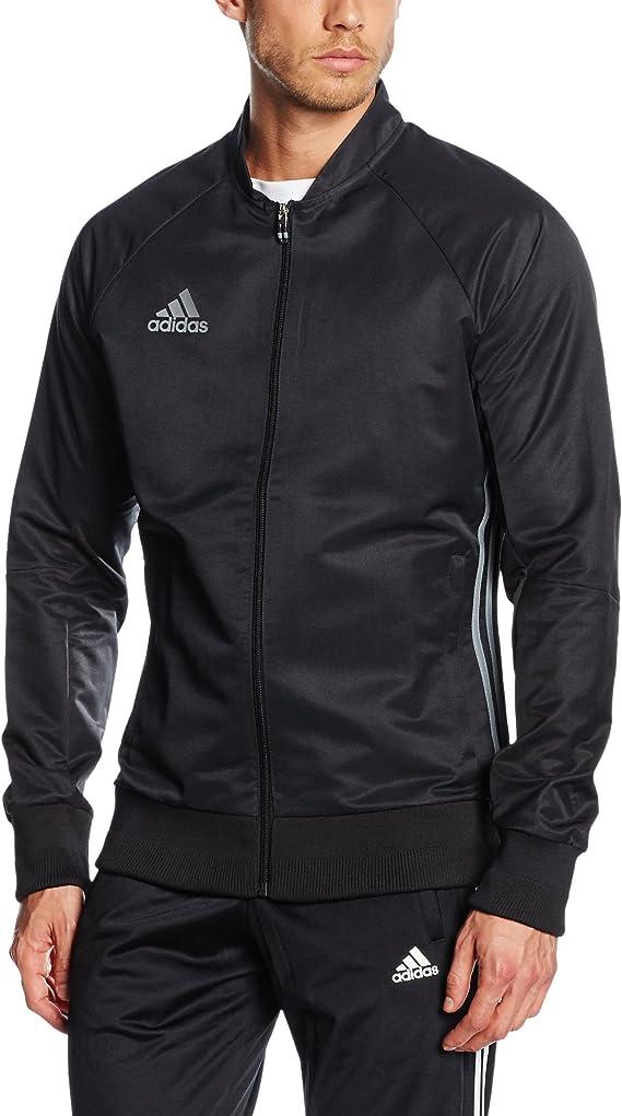 adidas Condivo 16 Anthem Veste Homme, NoirVista Grey, FR