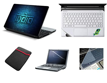cdc6a5e3c14c Namo Arts 5in1 Laptop Accessories 15.6 inch - Laptop Skins with ...
