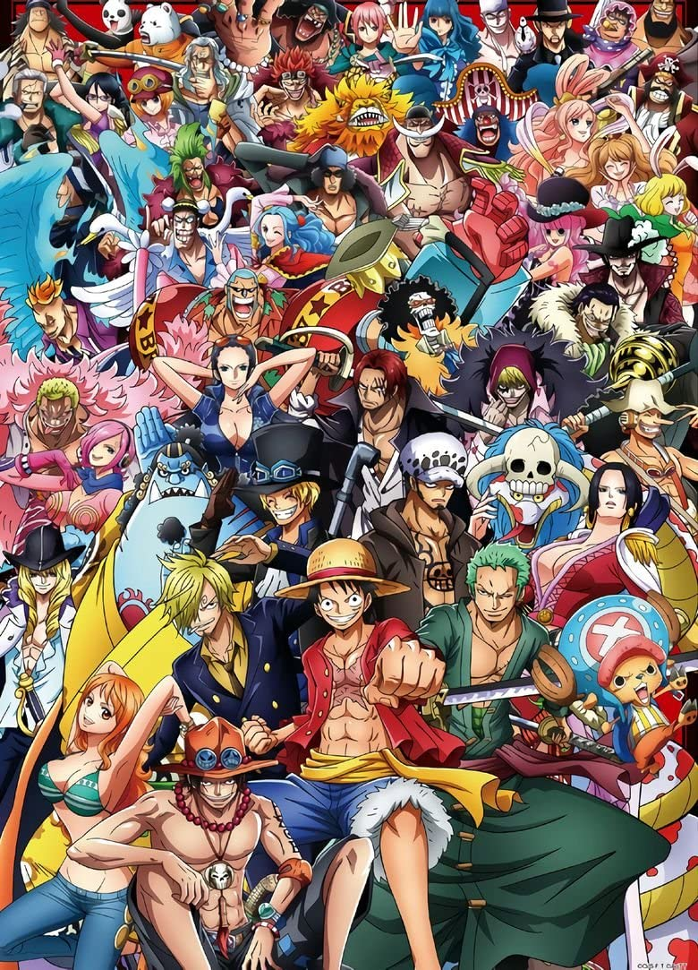 Amazon Com Xxw Artwork One Piece Straw Hat Pirates Poster New