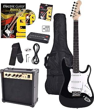 Volt EG100 E-Guitar Set - Set básico con guitarra eléctrica ...