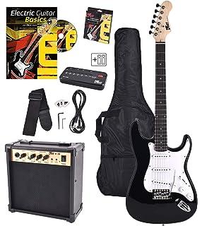 Yamaha EG 112 GP II BL - Kit de guitarra eléctrica y amplificador, color plateado: Amazon.es: Instrumentos musicales