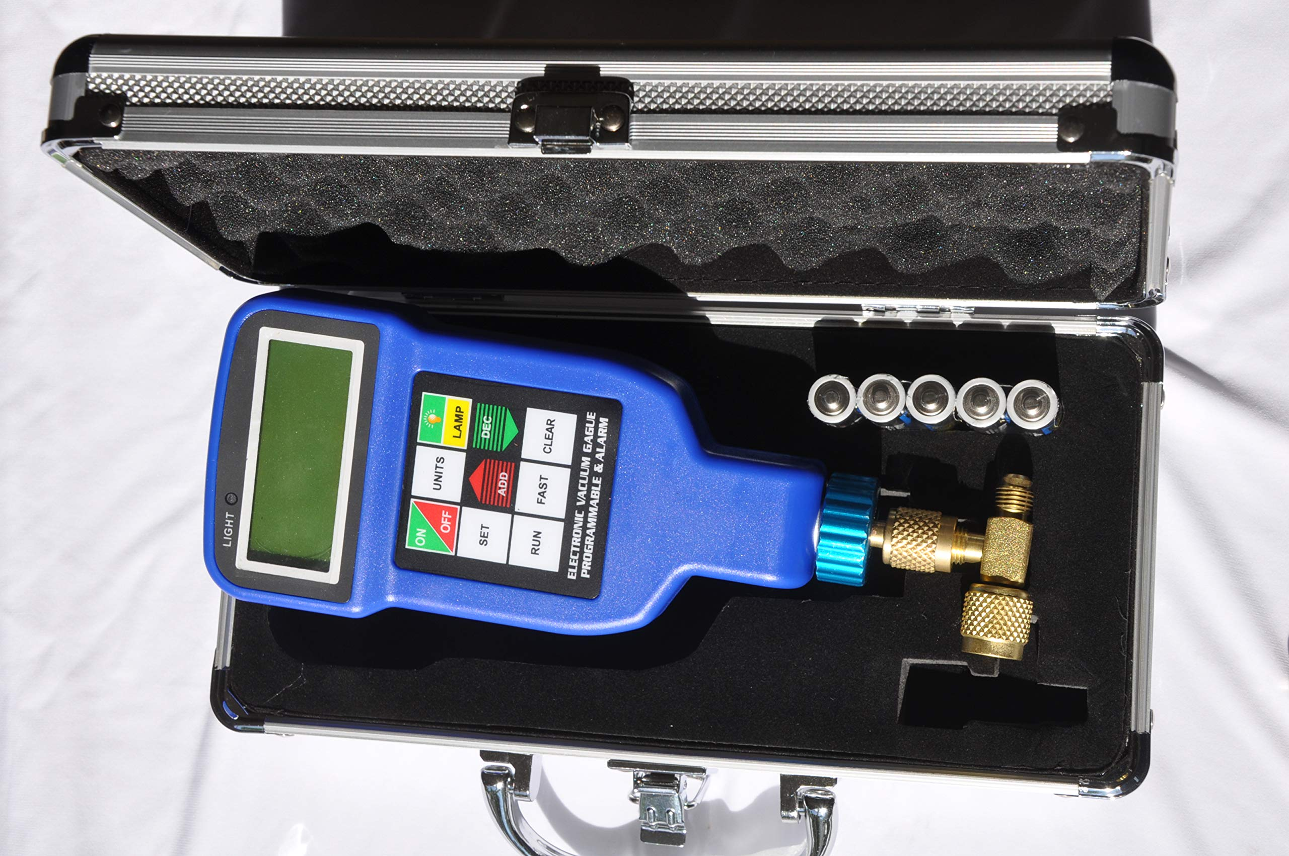 Deep Vacuum Micron Gauge/Digital Meter: AC HVAC Air Condition Refrigeration System Evacuation Optimum Test Tool, Most Accurate on The Market by VIOT (Image #4)