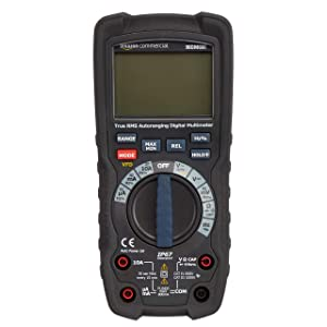 AmazonCommercial 6000 Count Compact Digital Multimeter, IP67, True RMS, CATIV 600V