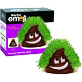 Chia Pet Emoji Poopy with Seed Pack, Decorative Pottery Planter, Easy to Do and Fun to Grow, Novelty Gift, Perfect for…