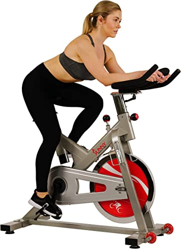 Sunny Health Fitness Indoor Exercise Stationary Cycle Bike