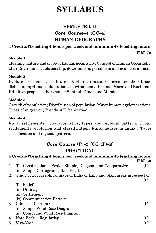 Buy भूगोल ( Geography) B A 2nd Semester Core Course 4