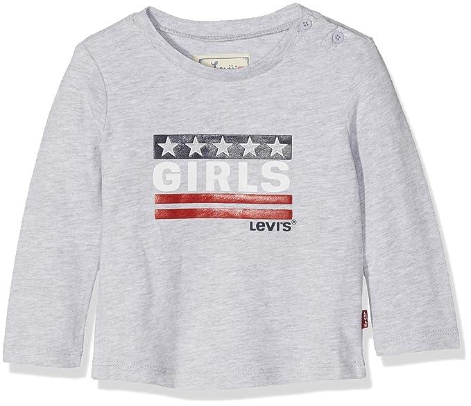 f794c77ce4 Levi s kids Camiseta Bebé-para Niñas  Amazon.es  Ropa y accesorios