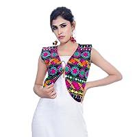 Banjara India Kutchi Short Jacket (Floral)