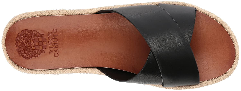 Vince Camuto Women's Carran Slide Sandal B075FQSBY9 7 B(M) US|Black