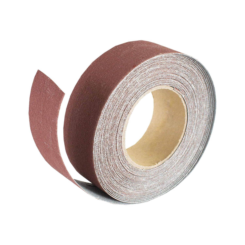POWERTEC 4RA2140 1-Inch x 20-Foot Aluminum Oxide Sanding Roll 400 Grit