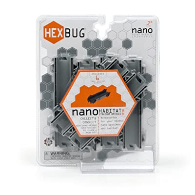 HEXBUG Habitat Nano Straight Bridges: Toys & Games