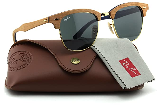 Ray-Ban Clubmaster Wood Unisex Sunglasses
