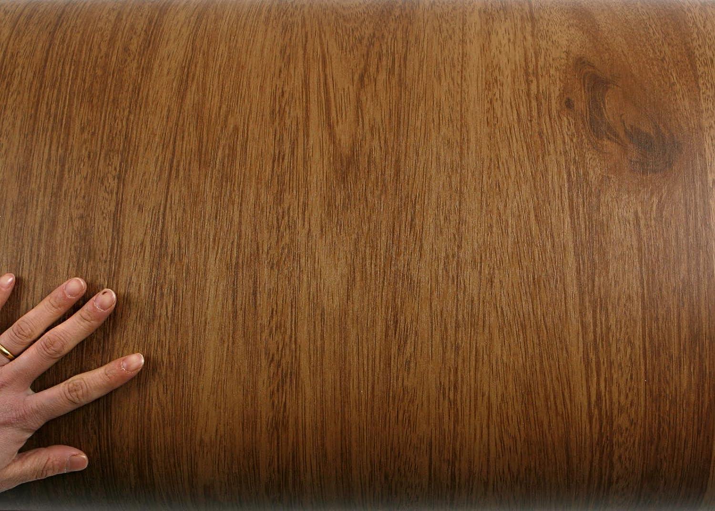 PG4102-1 : 1.96 Feet X 8.20 Feet ROSEROSA Peel /& Stick Acacia Merbau Camagon Amazahoue Crack Wood Textured Self-Adhesive Vinyl Wall paper Interior Film Shelf Liner Table and Door Reform Para Belleza Co Ltd