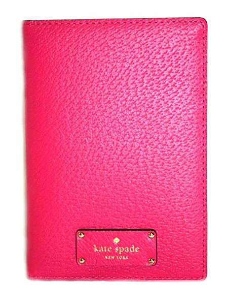 df291031be65 Kate Spade Leather Passport Holder Case (Punch 888): Amazon.ca ...