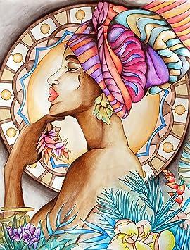Coloriage Adulte Peinture.Poster A Colorier Pour Adultes Toutes Techniques Crayon Aquarelle