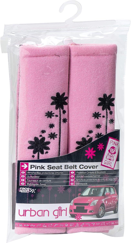 Sumex URBL96P Seat Belt Shoulder Pads Urban Girl Pink