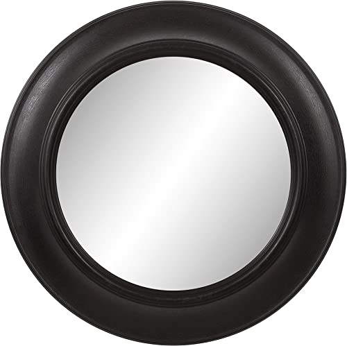 Patton Wall Decor 1801-6035 Wall Mirror, Black