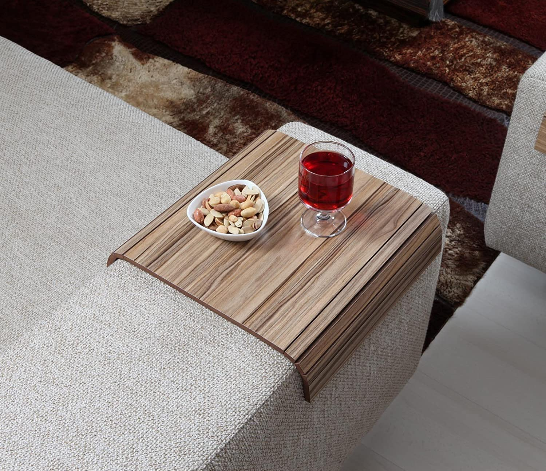 Amazon Sofa Tray Table European Walnut V2 Sofa Arm Table